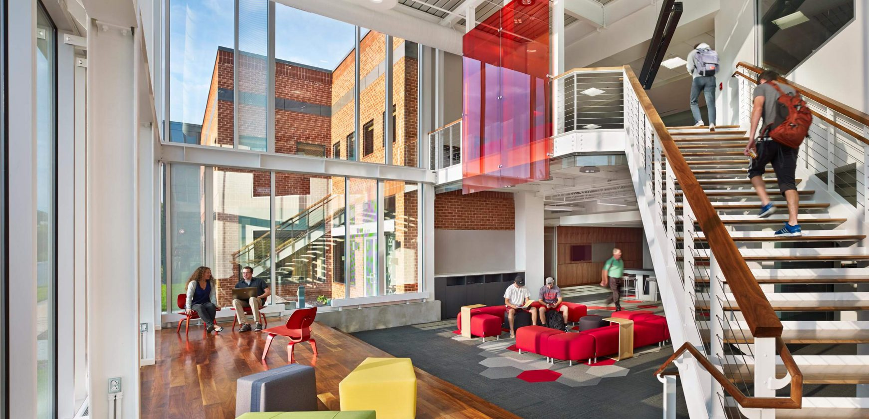 Albright College Roessner Hall Spillman Farmer Architects